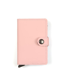 Secrid Womens Pink Matte Miniwallet