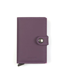 Secrid Womens Purple Matte Miniwallet
