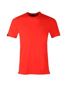 Luke Mens Red Traff Core Crew T-Shirt