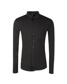 Gym king Mens Black Jersey Long Sleeve Shirt
