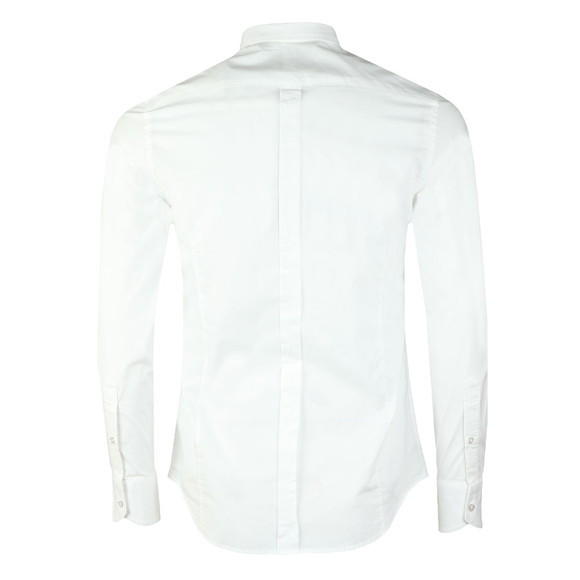 Replay Mens White L/S Slim Fit Shirt main image