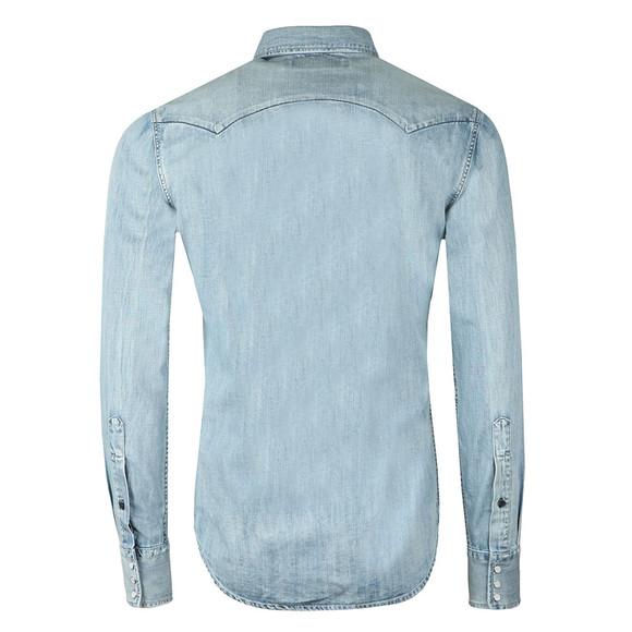 Replay Mens Blue L/S Denim Shirt main image