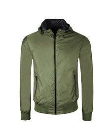 Replay Mens Green Reversible Jacket