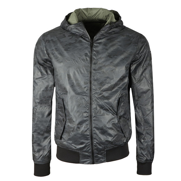 Replay Mens Green Reversible Jacket main image