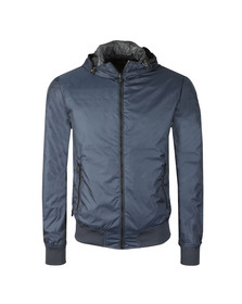 Replay Mens Blue Reversible Jacket