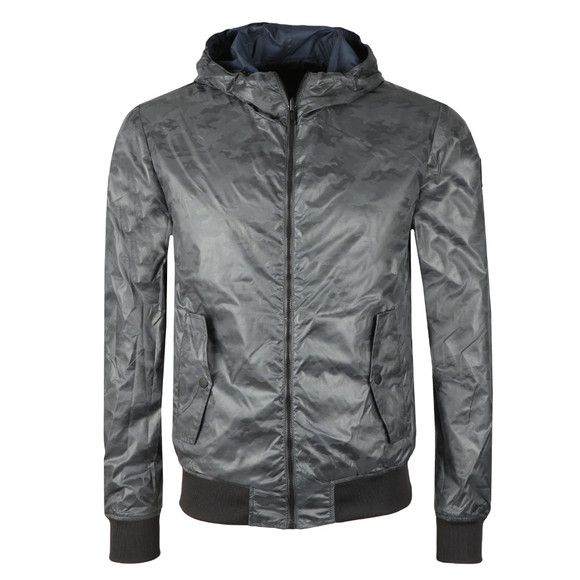 Replay Mens Blue Reversible Jacket main image