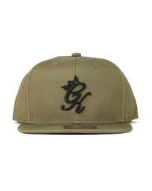 Gym King Mens Beige Core Signature Snapback