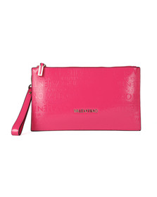 Valentino by Mario Womens Pink Clove Clutch Bag