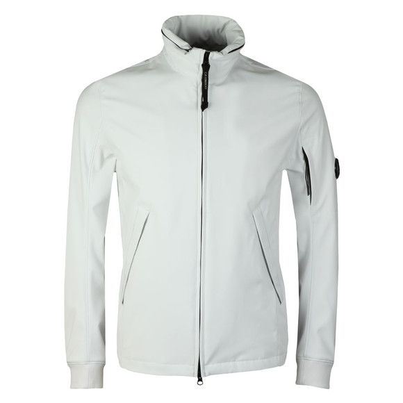 C.P. Company Mens Off-white Funnel Neck Shell Jacket main image