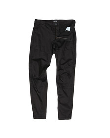 C.P. Company Mens Black Ergonomic Fit Chino