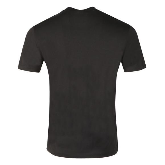 Emporio Armani Mens Black Embroidered Signature T Shirt main image