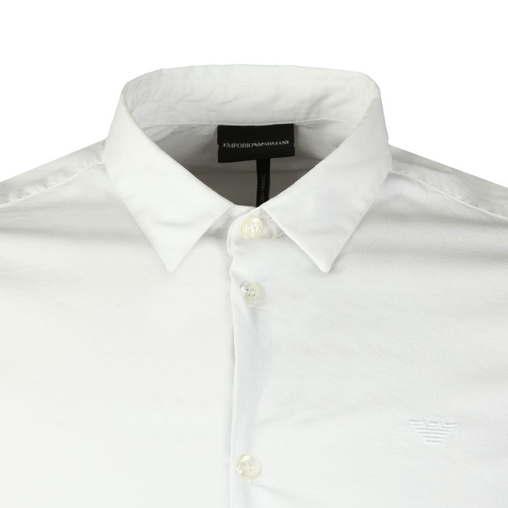 Small Logo Slim Plain Shirt main image
