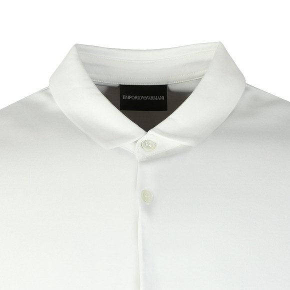 Emporio Armani Mens White Short Sleeve Jersey Shirt main image