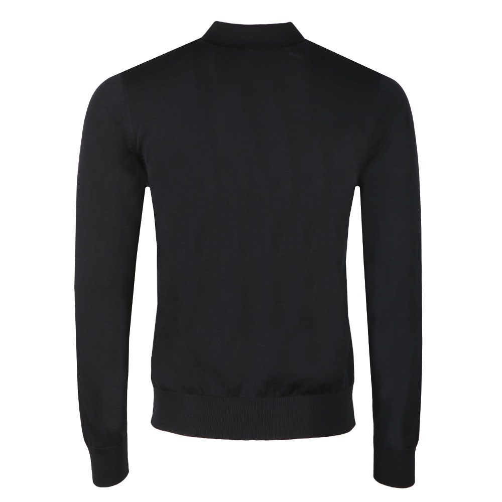 Knitted Long Sleeve Polo Shirt main image
