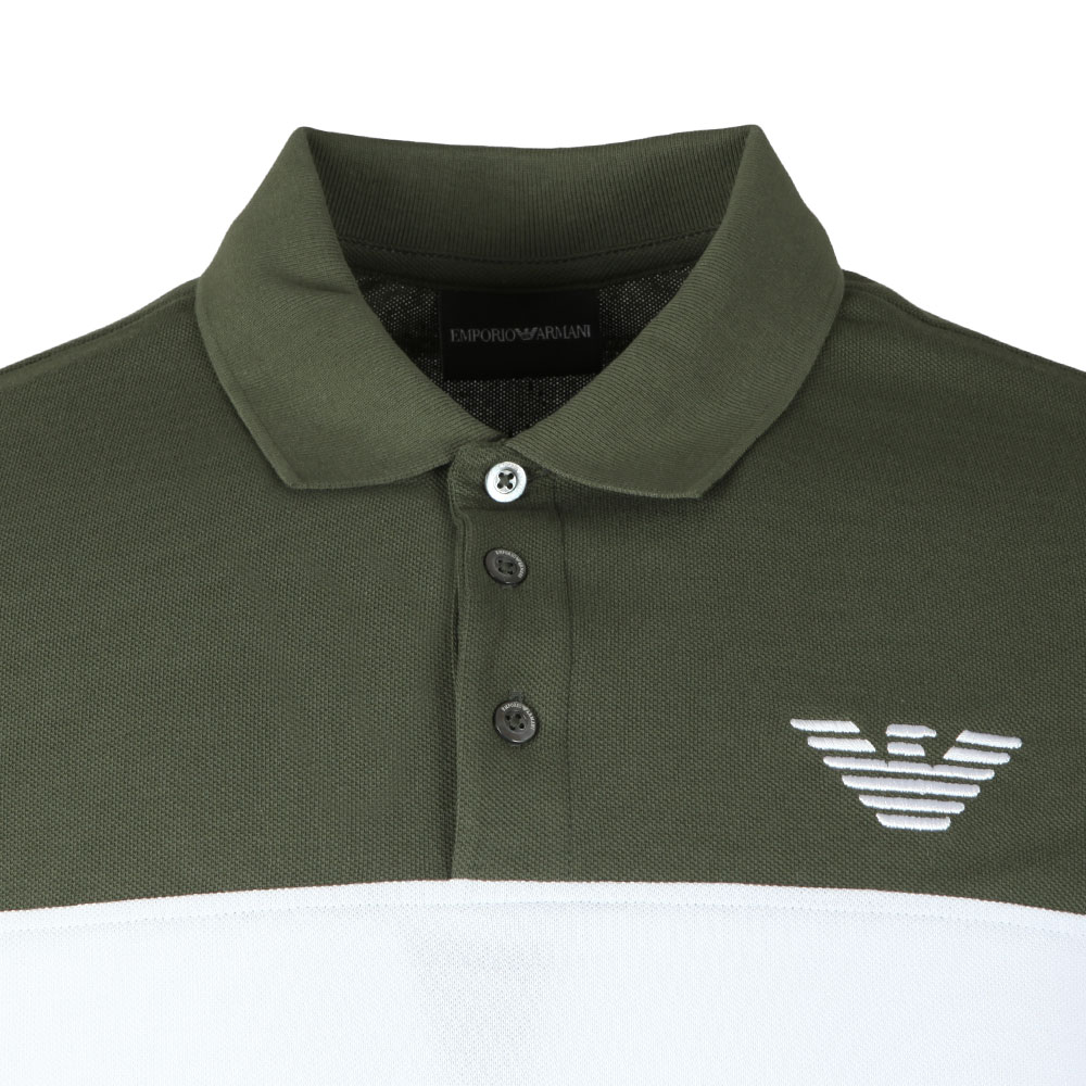 Embroidered Logo Pique Polo Shirt main image