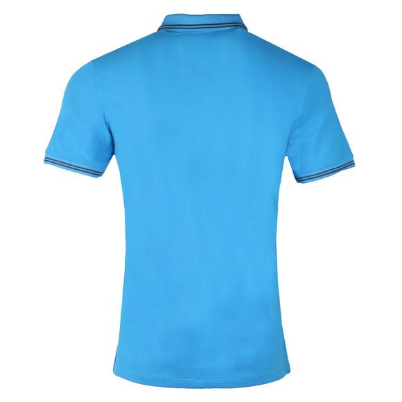 Emporio Armani Mens Blue 8N1F2B Tipped Polo Shirt main image
