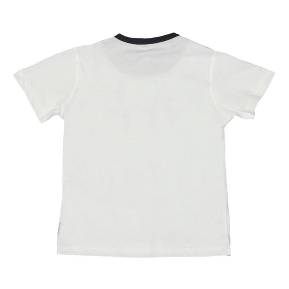 Armani Junior  Boys White 3Z4T04 Logo T Shirt main image