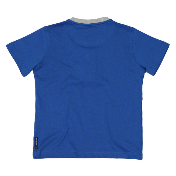 Armani Junior  Boys Blue 3Z4T04 Logo T Shirt main image
