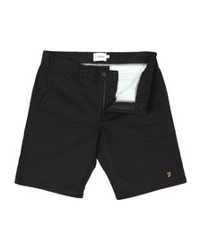 Farah Mens Black Hawk Chino Short