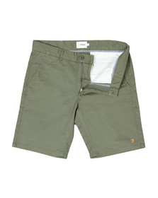 Farah Mens Green Hawk Chino Short