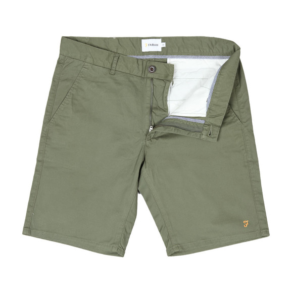 Farah Mens Green Hawk Chino Short main image