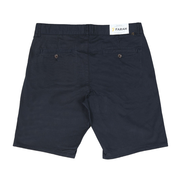 Farah Mens Blue Hawk Chino Short main image