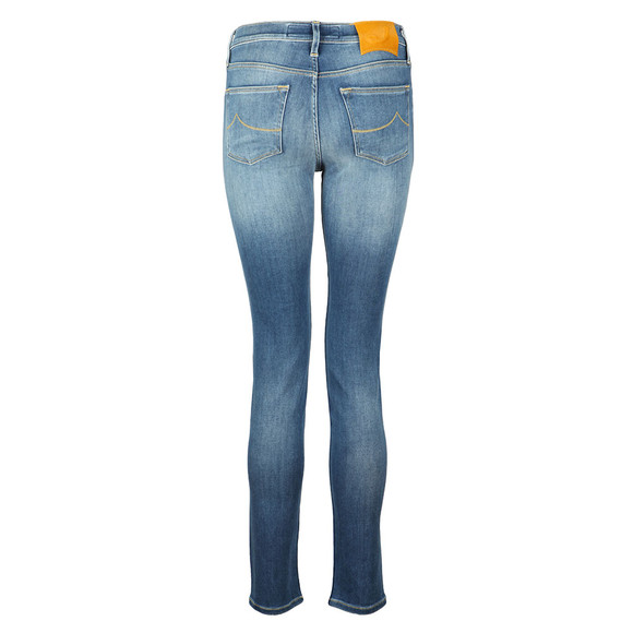 Jacob Cohen Womens Blue Kimberly Slim Jean