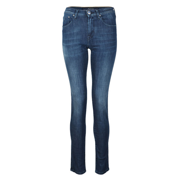 Jacob Cohen Womens Blue Kimberly Slim Jean main image