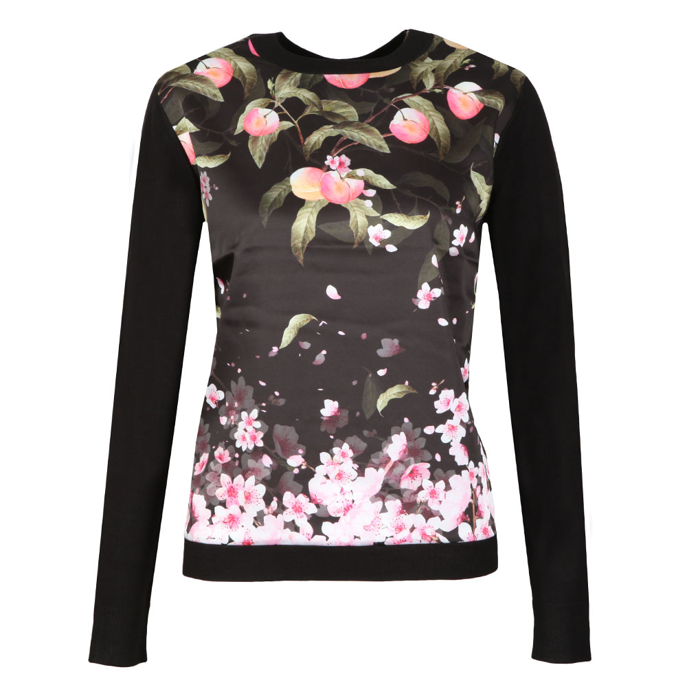 Anthya Peach Blossom Woven Front Jumper main image