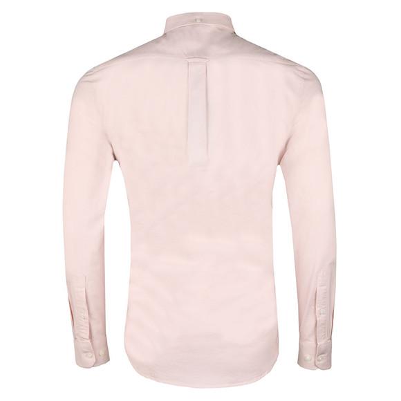 Farah Mens Pink Brewer LS Oxford Shirt main image
