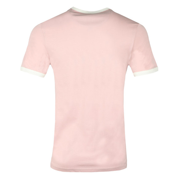 Farah Mens Red Groves Ringer T-Shirt main image