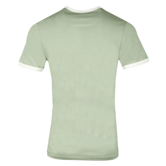 Farah Mens Green Groves Ringer T-Shirt main image