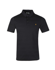 Farah Mens Blue Stapleton SS Polo Shirt