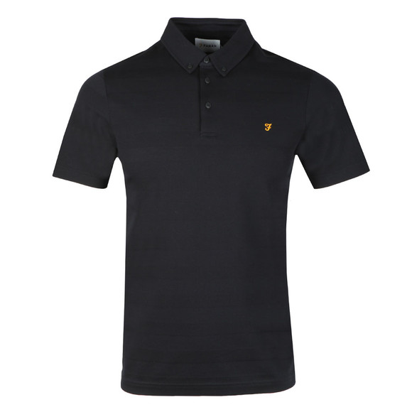 Farah Mens Blue Stapleton SS Polo Shirt main image