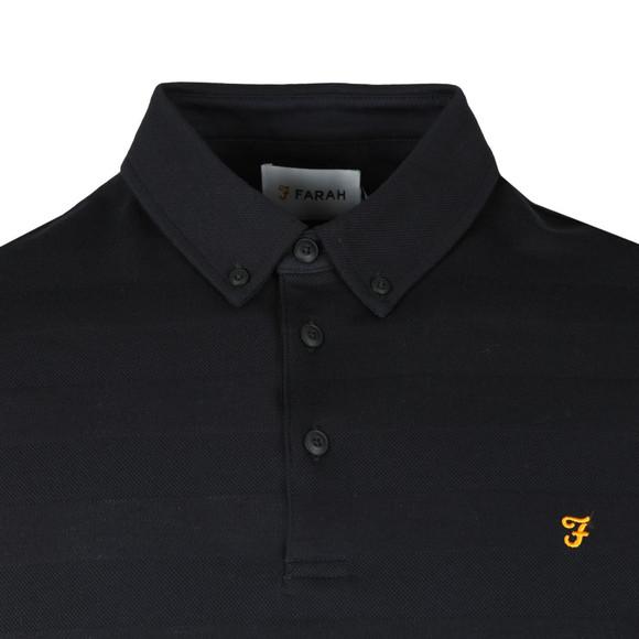 Farah Mens Blue Stapleton SS Polo Shirt main image