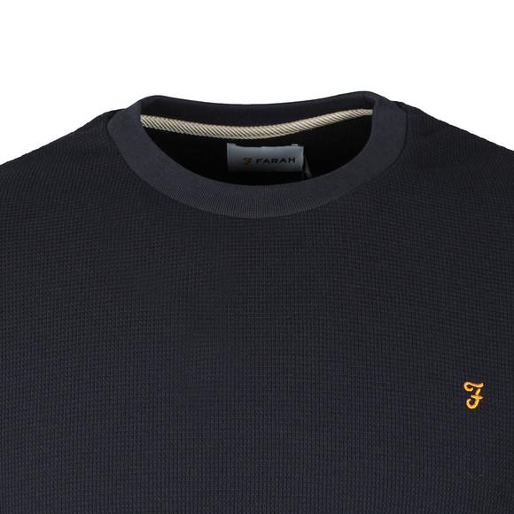 Farah Mens Blue Castlefield Sweatshirt main image