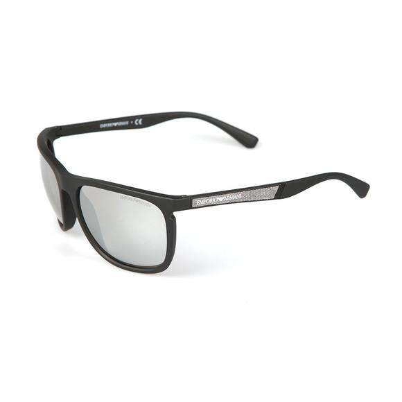 Emporio Armani Mens Black EA 4107 Sunglasses main image