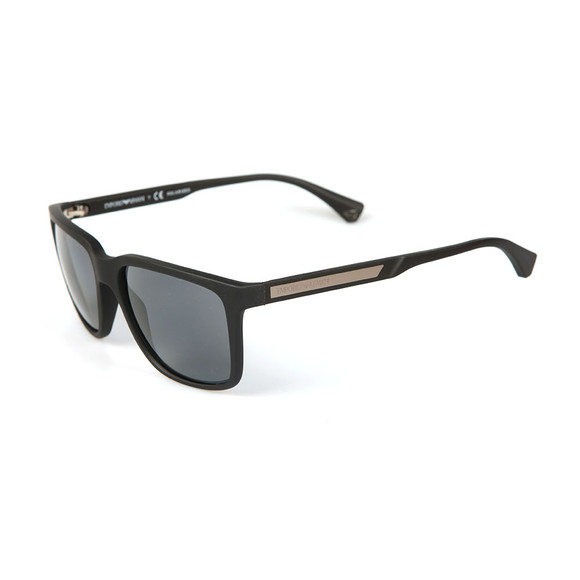 Emporio Armani Mens Black EA4047 Sunglasses main image