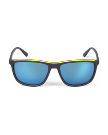Emporio Armani Mens Blue EA4109 Sunglasses