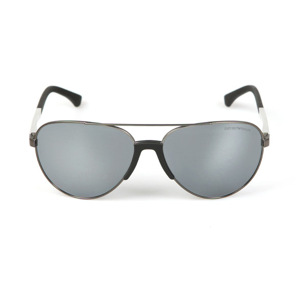 Emporio Armani Mens Silver EA2059 Sunglasses main image