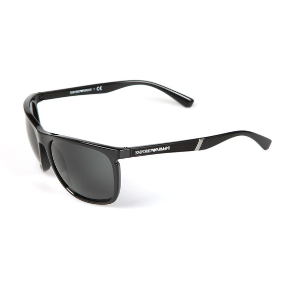 Emporio Armani Mens Black EA 4107 Sunglasses main image
