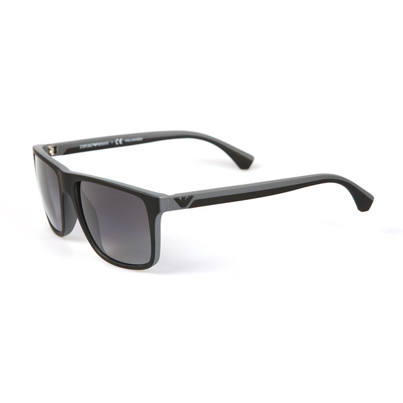 Emporio Armani Mens Grey EA4033 Sunglasses main image