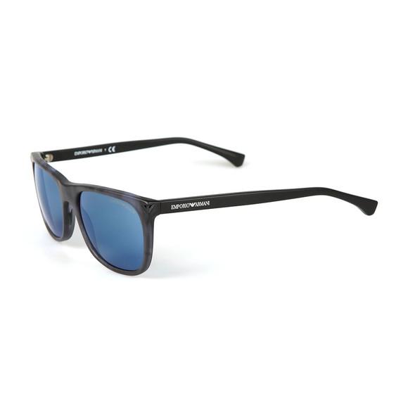 Emporio Armani Mens Blue EA4056 Sunglasses main image