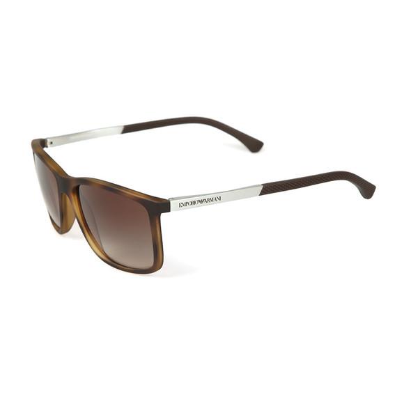 Emporio Armani Mens Brown EA4058 Sunglasses main image