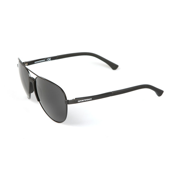Emporio Armani Mens Black EA2059 Sunglasses main image