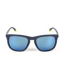 Emporio Armani Mens Blue EA4105 Sunglasses