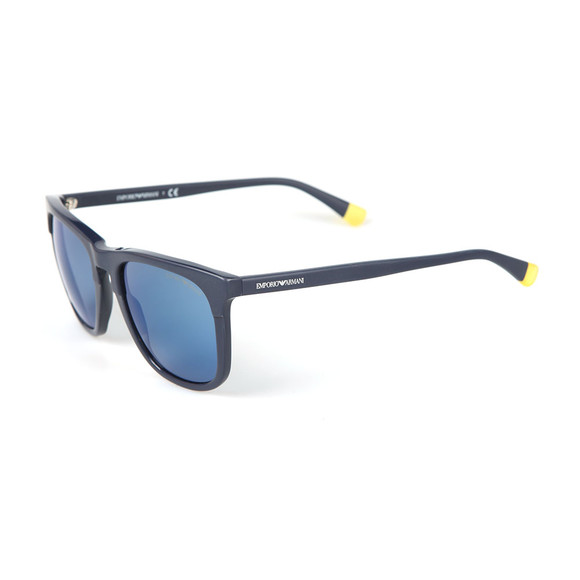 Emporio Armani Mens Blue EA4105 Sunglasses main image