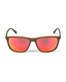 Emporio Armani Mens Grey EA4109 Sunglasses