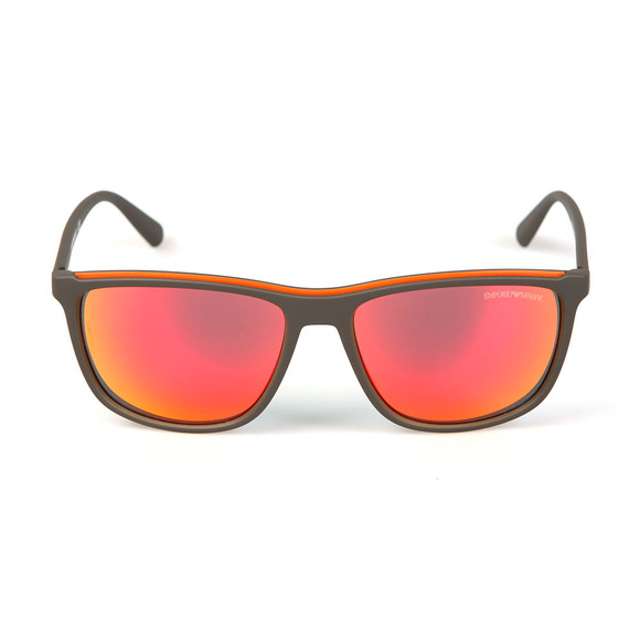 Emporio Armani Mens Grey EA4109 Sunglasses main image