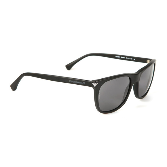 Emporio Armani Mens Black EA4056 Sunglasses main image